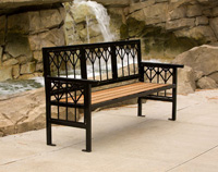 Banning Park Benches BN1-1000