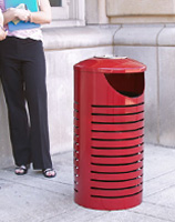 Cambridge Trash Receptacles CM2-1002