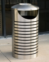 Cambridge Trash Receptacles CM2-1002-SF