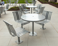CityView Tables CV6-1101 and Chairs CV5-1111