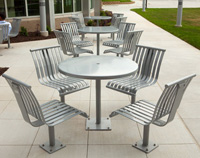 CityView Table CV6-1120 & Chairs CV5-1111