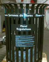 Flower Vases Regulations