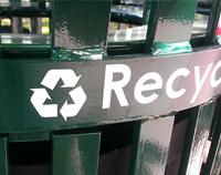 Recycling Decal Band