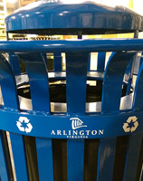 Arlington, VA City Logo Decal