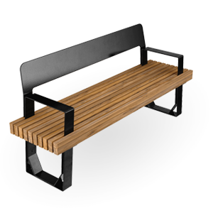 FUSE Backed Bench