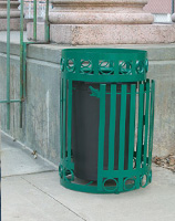 Halo Trash Receptacles HL2-2100