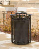 Meridian Trash Receptacles MR2-1001
