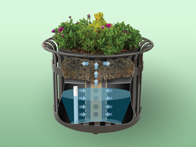 Earth Planter Self-Watering