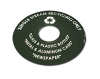 Recycle Only Lid