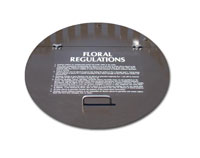 Floral Regulations Lid