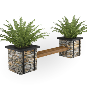 QuarryView Planter Seating