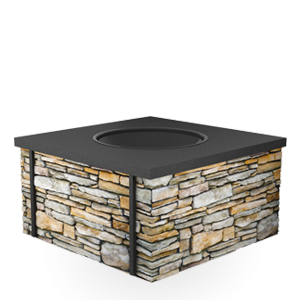 QuarryView Wood Burning Fire Pit