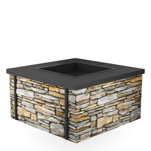 QuarryView Propane/Natural Gas Fire Pit