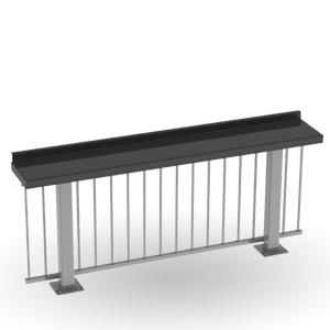 Dining Height Drink Rails