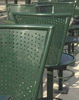 Stadium Tables and Chairs