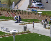 TallGrass benches and CityView receptacles