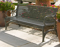 WestPort Park Bench WP1-3010