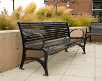 WestPort Park Benches WP1-1010