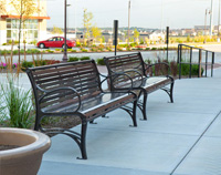 WestPort Benches WP1-1010