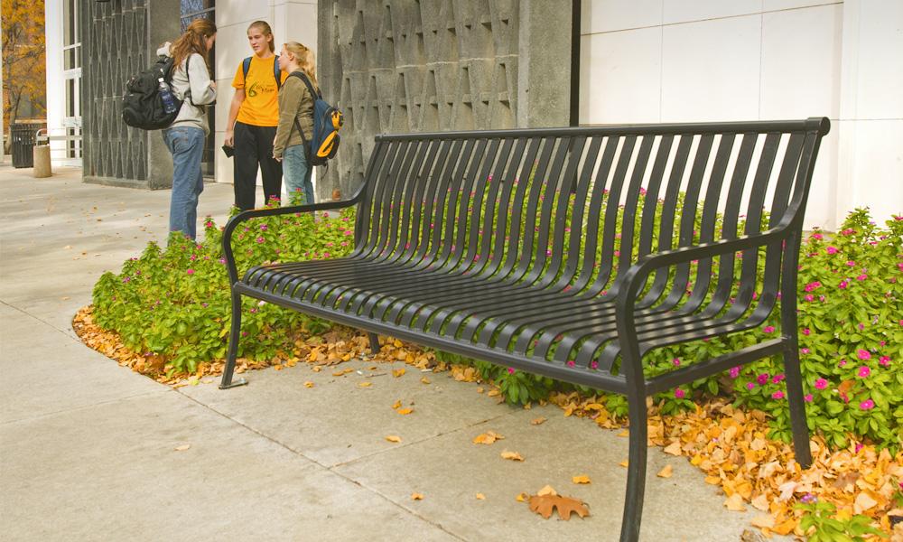 floating bench waiting