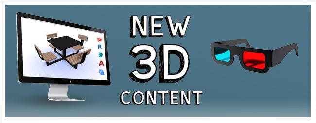 New 3D Content