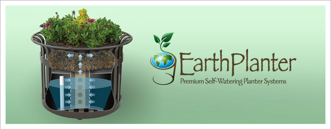 Earth Planter Self Watering System